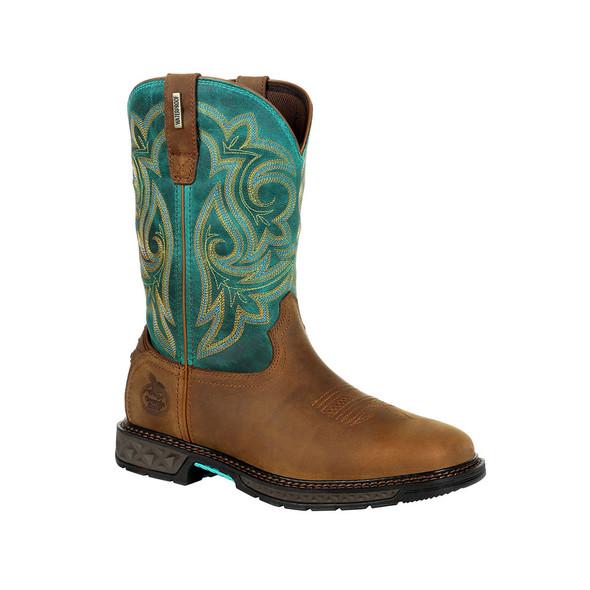 Georgia Boot Carbo-Tec LT Women's Steel Toe Waterproof Pull-On Boot GB00386