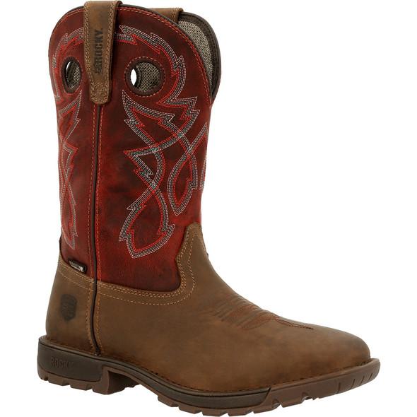 Rocky Legacy 32 Steel Toe Waterproof Western Boot RKW0341