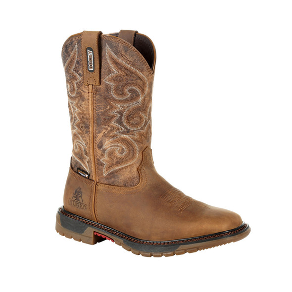 "Rocky Original Ride FLX Women's 10"" Waterproof Western Boot RKW0298"