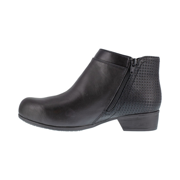 Rockport Works Women's Black Carly Alloy Toe RK751