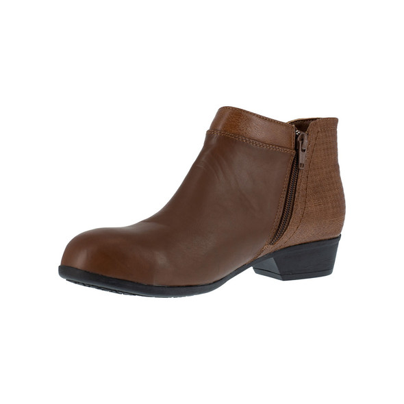 Rockport Works Women's Brown Carly Alloy Toe RK752