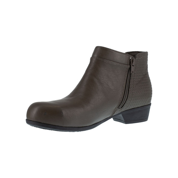 Rockport Works Women's Charcoal Carly Alloy Toe RK753