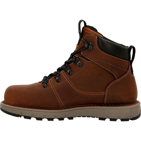 "Rocky Women's Brown 6"" Composite Toe Work Boots RKK0350"