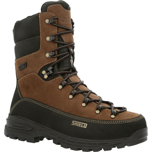 "Rocky All Brown 10""Waterproof Insulated LStyle RKS0529"