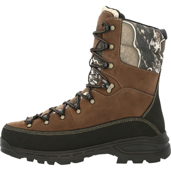 "Rocky 10"" Camo Waterproof Insulated Hunting Boot RKS0530"