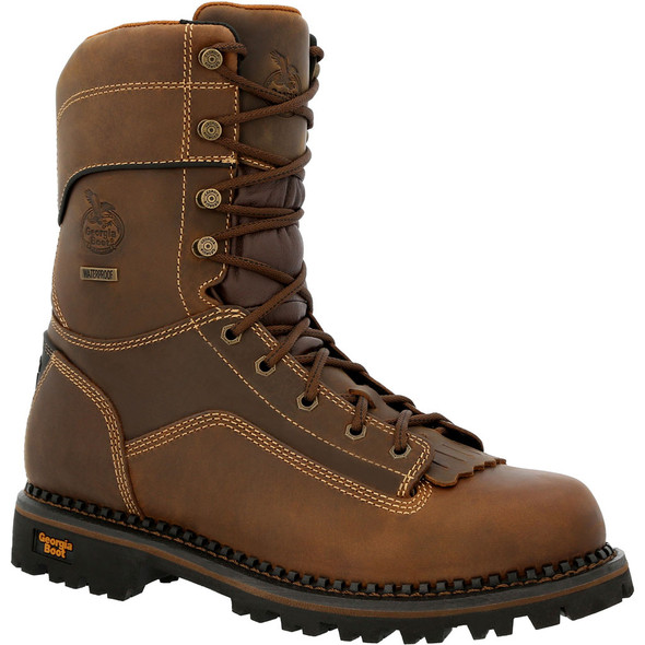 Georgia AMP LT Low Heel Logger Composite Toe Waterproof Work Boot GB00473