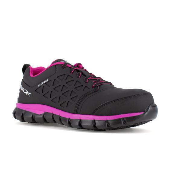 Reebok Women's Sublite Cushion Composite Toe Work Shoe RB491