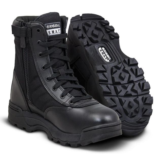 """Original SWAT Classic 9"""" Side Zip Boots 115201"""