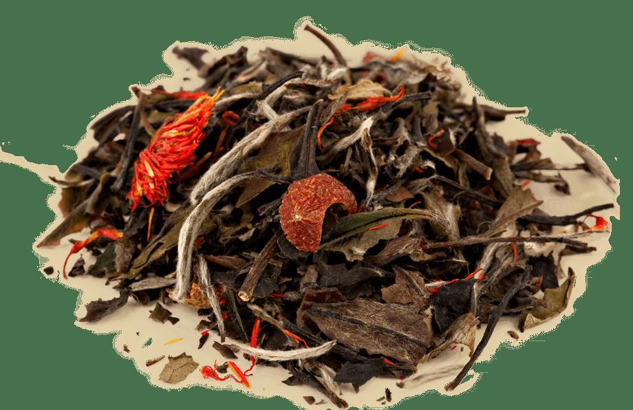 Organic Pomegranate White Tea