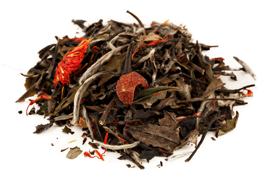 Organic Pomegranate White Tea