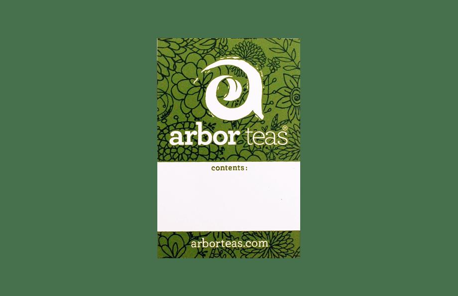 Arbor Teas Label