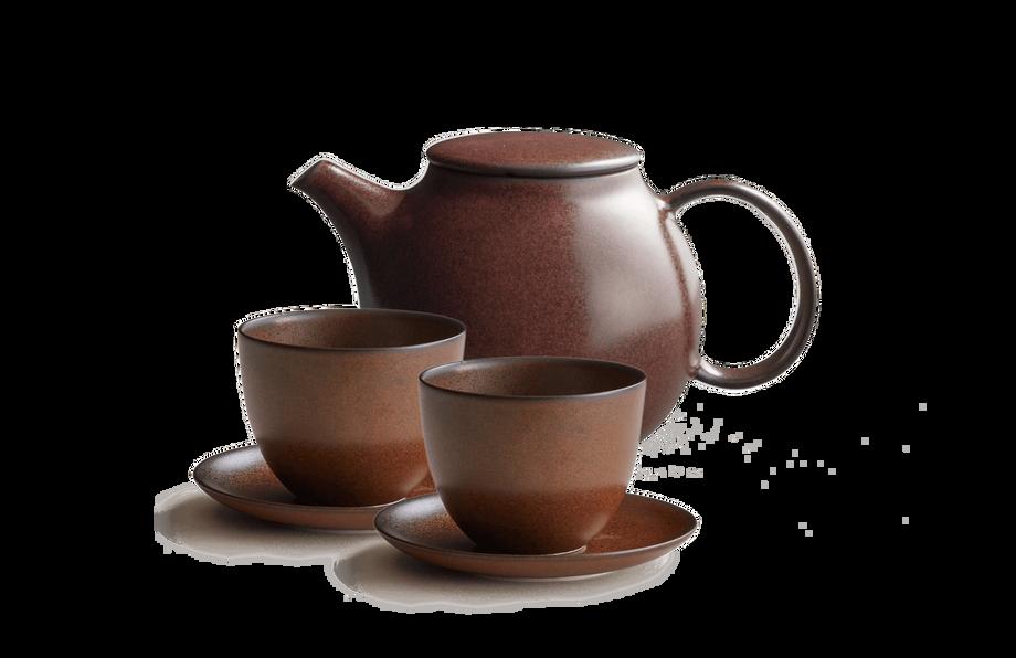 Pebble Teapot Set
