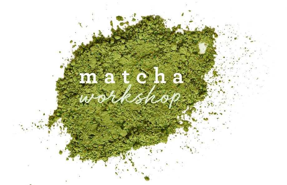 Arbor Teas Matcha Workshop