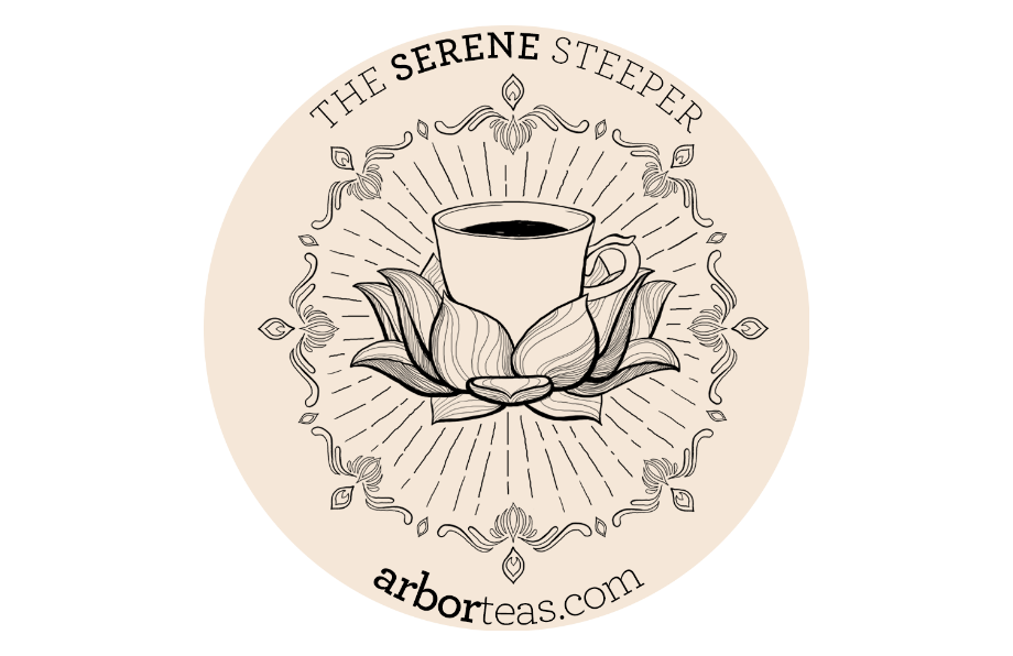 Arbor Teas Steeper Sticker
