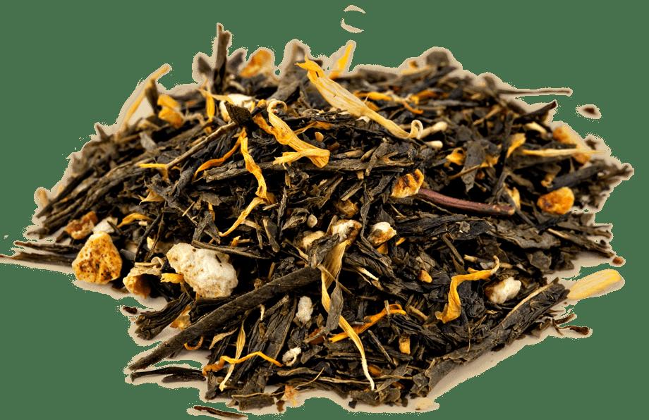 Organic Citrus Ginger Green Tea