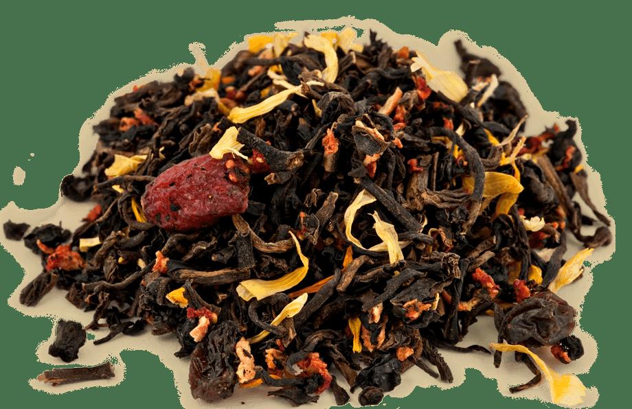 Organic Decaf Mixed Berry Black Tea