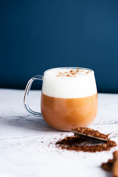 Cinnamon Rooibos Latte