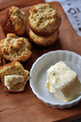 Cultured Tea Butter and Buttermilk Recipe