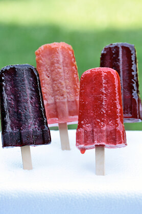 Tea-Flavored Frozen Fruit Pop Recipe