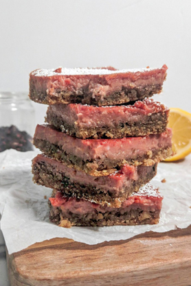 Hibiscus Lemon Bars by Feelin' Whisky