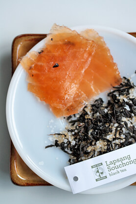 Tea Cured Salmon Recipe