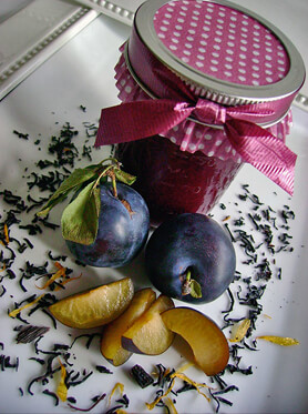 Vanilla Bean Black Tea Plum Butter Recipe
