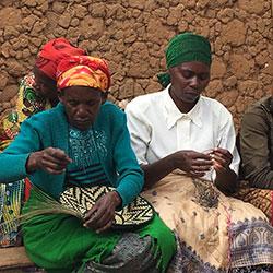 Weaving Fibers into Baskets