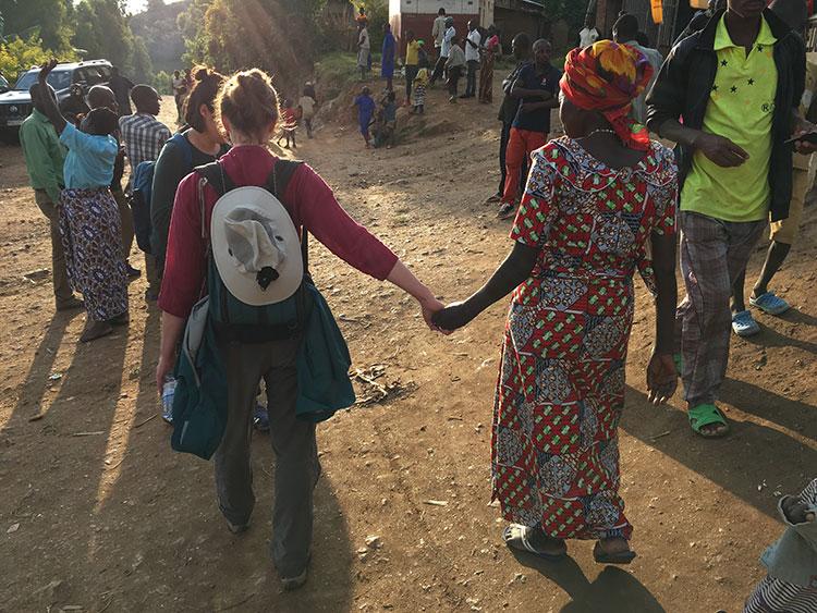 Dusk in Rwanda