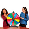 """Spin to Win 24"""" Prize Wheel; in use"""