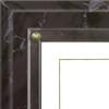 Certificate Plaque; close-up of black marble plaque