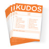 Kudos for Work Note Pad Set; 10 pads
