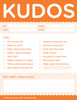 Kudos for Work Note Pad Set; close-up