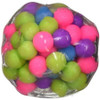 DNA Ball - a stress toy with bundle of colorful beads inside a flexible, see-through casing.
