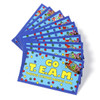 Go T.E.A.M. cards and TEAM lapel pins
