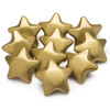 Gold  Squeeze Star, set of 10