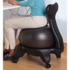 Balance Ball Chair with Back Support, in use