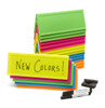 Set of 20 Neon Reusable Name Tents