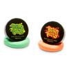 Brain Putty; neon green and neon orange