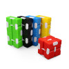 Infinity Cube; assorted colors partially unfolded