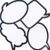 Laminated Speech Bubbles