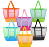 Large Mesh Bag; 6 assorted colors