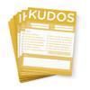 Kudos for Teams- set of 10 Note Pads (Gold)-thumbnail