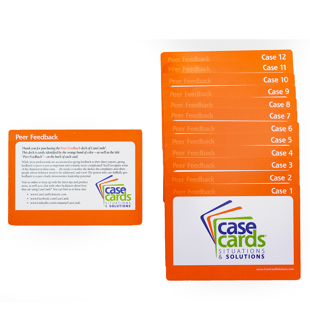 CaseCards - FEEDBACK Situations & Solutions Peer