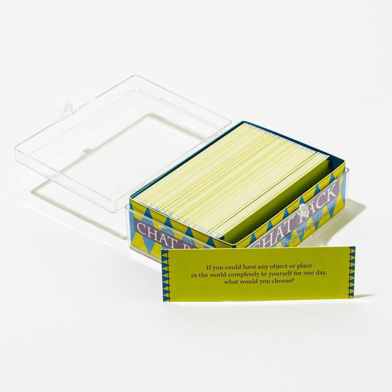 Chat Packs * Original; box and sample card