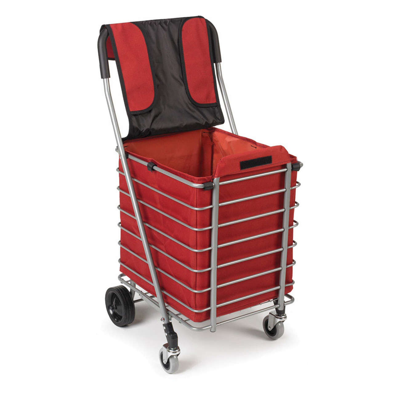 Lightweight Aluminum Cart --Super light Shopping Cart with All-Weather Bag