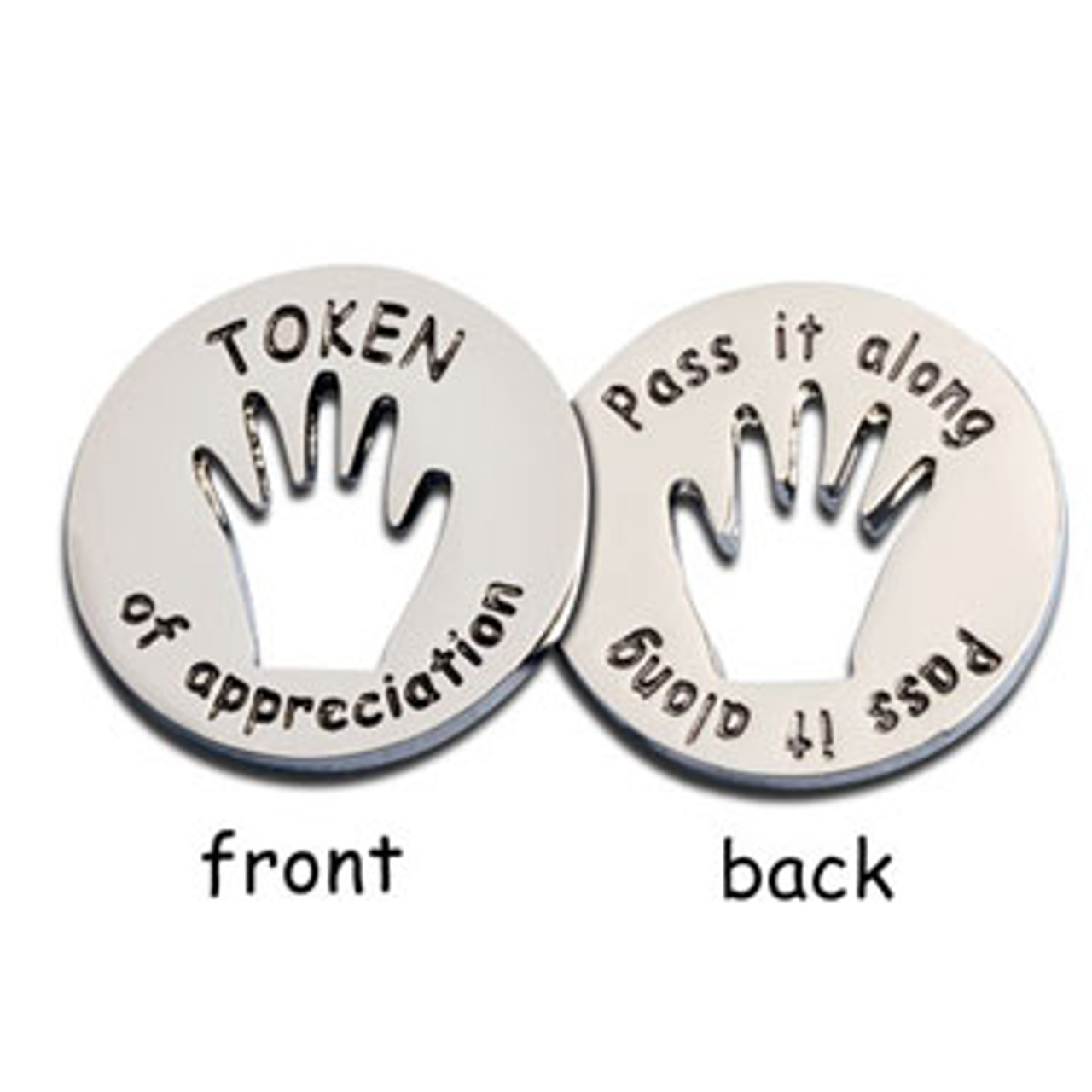 Tokens of Appreciation; front and back