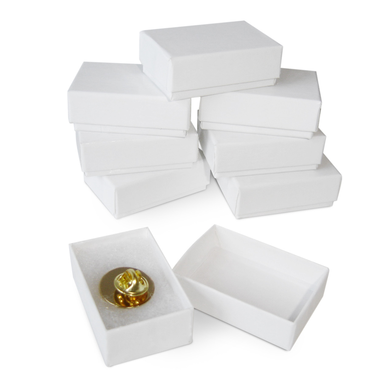 Gift Box for Lapel Pins; several boxes