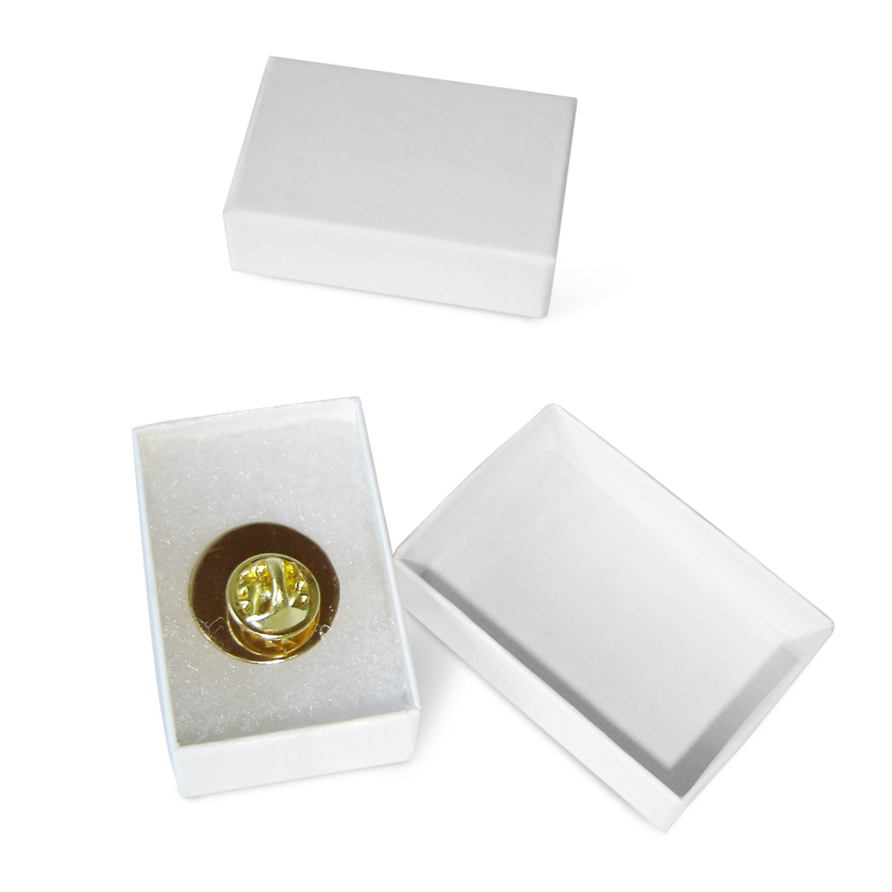 Gift Box for Lapel Pins; box with pin