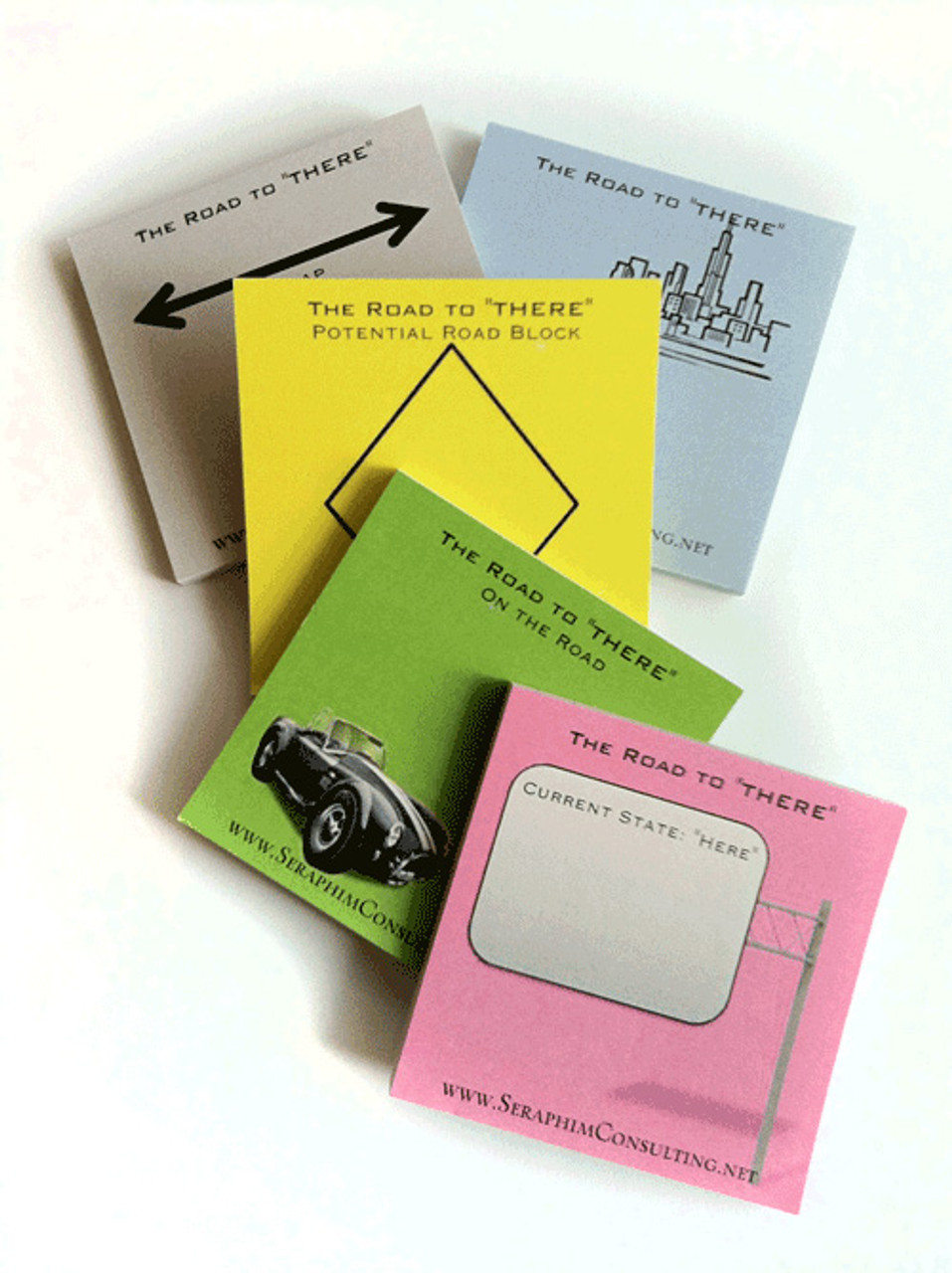 Road to There; sticky notes