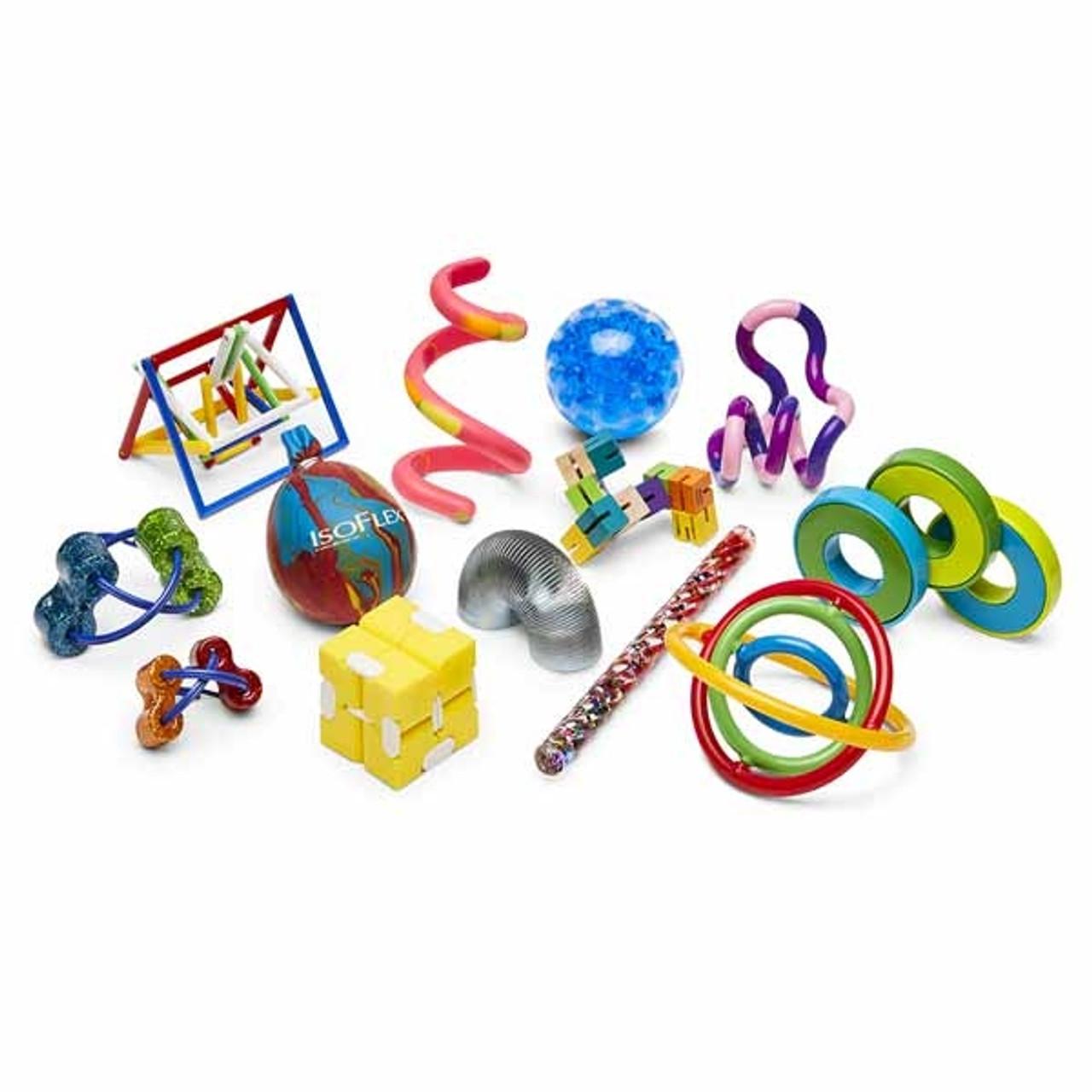 Basic Fiddle Set -- 13 fidget toys